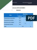 Estructura 2019a Del EXANI
