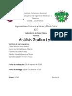 Análisis Gráfico 1 y 2  Física Clásica ESIME Zacatenco