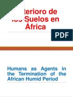 Deterioro de Los Suelos en África