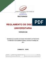 Reglamento Disciplina Universitaria v008