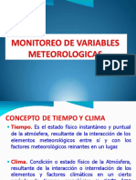 Monitoreo de Variables Meteorologicas Parte 1
