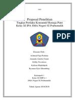 IND Proposal Penelitian Tingkat Perilaku Konsumtif Siswa Kelas XI SMA Negeri 02 Prabumulih.docx