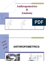 Anthropometrics Anatomy