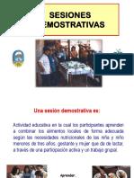 Sesiones Demostrativas Parte 1