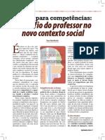 Artigo - Educar Para Competências_ O Desafio Do Professor No Novo Contexto Social - Vasco Pedro