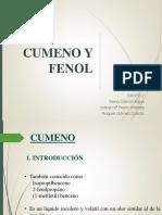 Cumeno y Fenol
