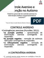Controle Aversivo e Intervenção No Autismo