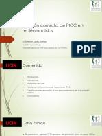 Posición Correcta de PICC en Recién Nacidos - Copia