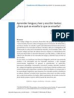 Aprender lengua y leer y escribir textos.pdf
