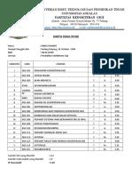 Transcript of Academic Records Rindu IV