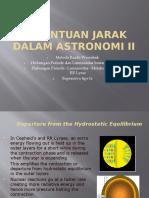 Penentuan Jarak Dalam Astronomi II