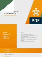 Formato Plantilla PowerPoint SENA 2018