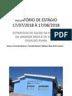 RELATÓRIO PSF