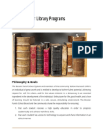 bpss - guidelines for library programs 2018