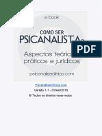 eBook Como Ser Psicanalista