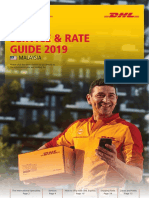 Dhl Express Rate Transit Guide My En