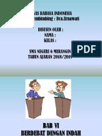 Tugas Bahasa Indonesia Bab 6 Debat