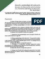 Fil de la Educ y Epistemología de Educ (Sara Jalefa).pdf