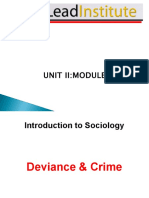 Cxc Cape Sociology - Unit 2 Module 2 - Deviance and Crime - February 2014