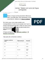 Dígrafos e Fonemas_ Tabela Com Sons Da Língua Portuguesa - UOL Educação
