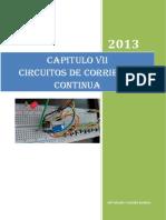CHAPTER VII.  FISICA III. CIRCUITOS DE CORRIENTE CONTINUA.docx