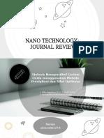 Ppt Review Jurnal Nano