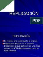 Replicacion y Reparación Adn