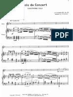 JB Singelee - Solo de Concert Piano Score