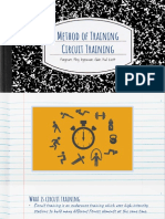 methods of training presentation