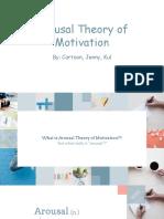arousal theory of motivation