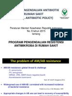 Kebijakan Pengendalian Antibiotik Di RS_Januari 2019