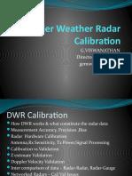Doppler Weather Radar Calibration Final