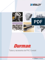 Catálogo Conduit Kraloy Tipo a y Durman Flex V1