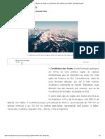 Cordilheira Dos Andes. Características Da Cordilheira Dos Andes - Mundo Educação