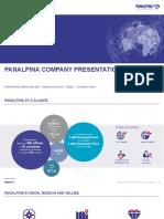 190320 Panalpina Company Presentation Website