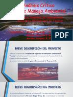 Análisis Crítico Del Plan de Manejo Ambiental