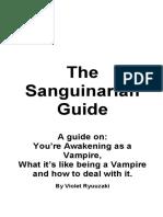 The Sanguinarian Guide - Ryuuzaki Violet