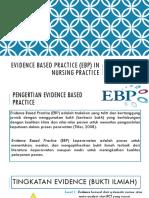Evidence Based Practice (EBP) in Nursing