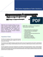 BSWA Impedance Tube Systems Scantek Brochure v121530
