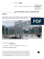 Nueve Claves Para Diseñar Una Vivienda de Acero - 09-08-2017 - Clarín.com