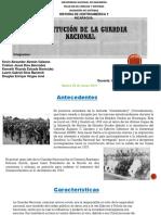 Constitución de La Guardia Nacional