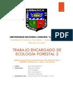 TRABAJO ENCARGADO DE ECOLOGÍA FORESTAL 2.docx