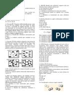 Lista de Substâncias Simples e Composta, Modelo Atômico de Dalton