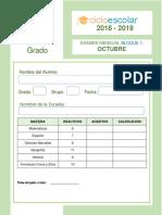 Examen_4to_Grado_OCTUBRE_B1_2018_2019