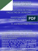 Investigación y Expresión juridicas