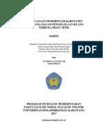 Skripsi perencanaan Pemkab Karawang pengelolaan RTH.docx