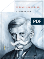 (John Harvard library) Oliver Wendell Holmes, G. Edward White - The Common Law-Harvard University Press (2009) (1).pdf