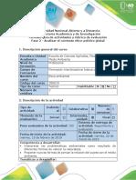 Guía de Actividades y Rúbrica de Evaluación - Fase 2 - Analizar El Contexto Ético-político Global
