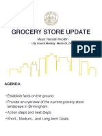 Birmingham Mayor's Grocery Store Update March 2019