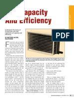 Coil Capacity Efficiency